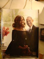 The Obama's V Collectors Magazine Purse