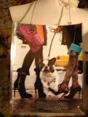 Bags & Dogs Fashion Magazine Purse