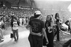 Charles Hashim: Fleetwood Mac concert, Miami, May 28, 1977
