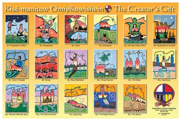"Creators Gift 18"" x 12"" Landscape Poster"