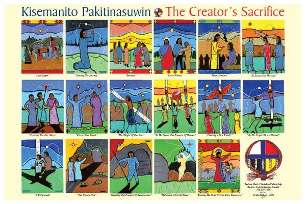 """Creators Sacrifice 18"""" x 12"""" Landscape Poster"""