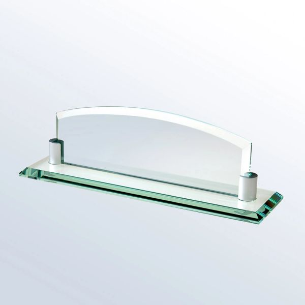 Arch Glass Nameplate