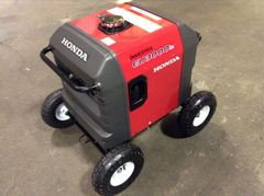 "HONDA EU3000IS INVERTER GENERATOR ALLTERRAIN 10"" PNUEMATIC WHEEL KIT"