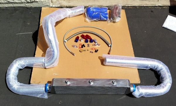 HONDA CIVIC INTERCOOLER AND PIPING KIT D15 D16 + TURBO OIL LINES