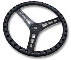 Joes Racing 13in Steering Wheel Flat Dish