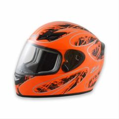 Zamp FS-8 Helmet Neon Orange and Black