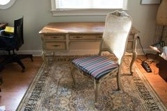 SOLD!!Pulaski French Writing Desk W/ Chair