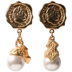 Stunning Coco Chanel Style Dangling Gems, Fit for a Goddess - Earrings