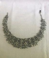 SOLD!! Rare Classic Hollywood Regency Beautifully Beaded Daniel Swarovski Necklace