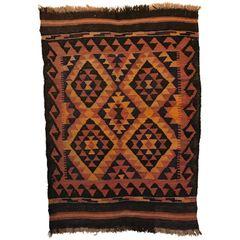 SOLD!1 Madeline Weinrib Moroccan Wool Rug, Tribal Colors