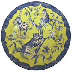 SOLD!1 Beautifully Colored Lynn Chase Designs Plate African Inspirations, England