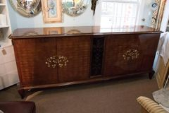 ON SALE NOW!! Monumental Attribution to Jules Leleu Art Deco Sideboard/Buffet
