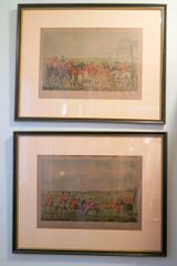 ON SALE NOW!1 Henry Alken - The Meeting and The Death Etchings Beautifully Framed and Matted