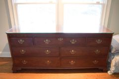 SOLD!! Gorgeous! Baker Furniture 7 Drawer Campaign Chest. Stamped.