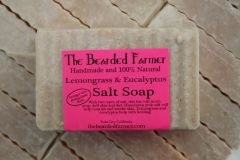 Eucalyptus and Lemongrass Pink Himalayan Salt Bar