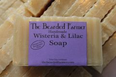 Wisteria and Lilac Soap