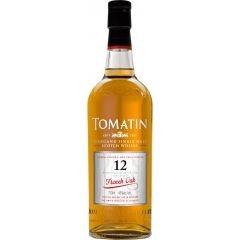 Tomatin 12 Year French Oak Single Malt Scotch Whisky
