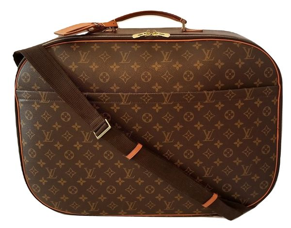 b6119824a686 SOLD Louis Vuitton Packall GM Monogram Luggage Travel Bag and Strap ...