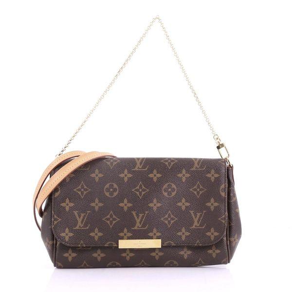 2195a3cef60e SOLD Louis Vuitton Favorite MM Monogram Cross Body Bag ...
