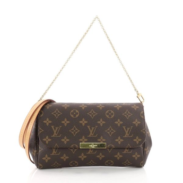 535def99e02 SOLD Authentic Louis Vuitton Favorite MM Crossbody Bag with Strap ...