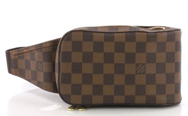 870aeec5ed6f Louis Vuitton Geronimos Waist Bag Fanny Pack Damier Ebene Canvas ...