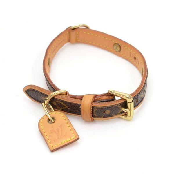 e438b634e7ff SOLD Louis Vuitton Collier Pet Collar Dog Baxter Monogram ...