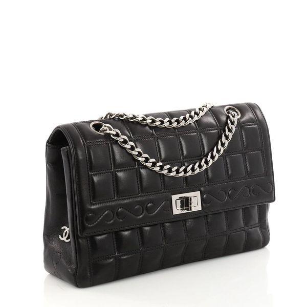 dbdf91487aa9 Chanel Black Lambskin Medium Mademoiselle Shoulder Bag ...