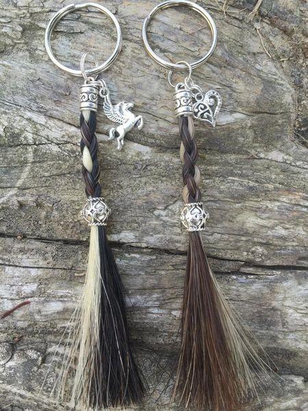 Braided Rope Tassel Horse Hair Key Chain  241e569f8