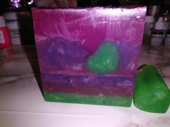 Heart Shape Herb Organic Soap