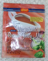 Vegan Organic Brown Gravy Mix