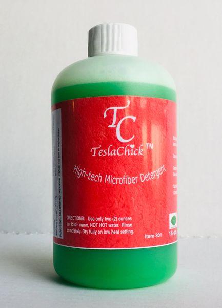 TeslaChick(TM) High-Tech Microfiber Detergent - 16 oz