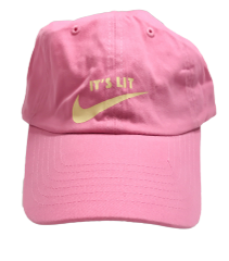 It's Lit Dad Hat - Pink