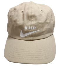 It's Lit Dad Hat - Tan