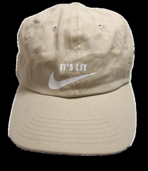 It's Lit Dad Hat - Tan