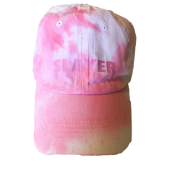Slayer Dad Hat - Pink White