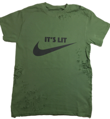 It's Lit Shirt - Green