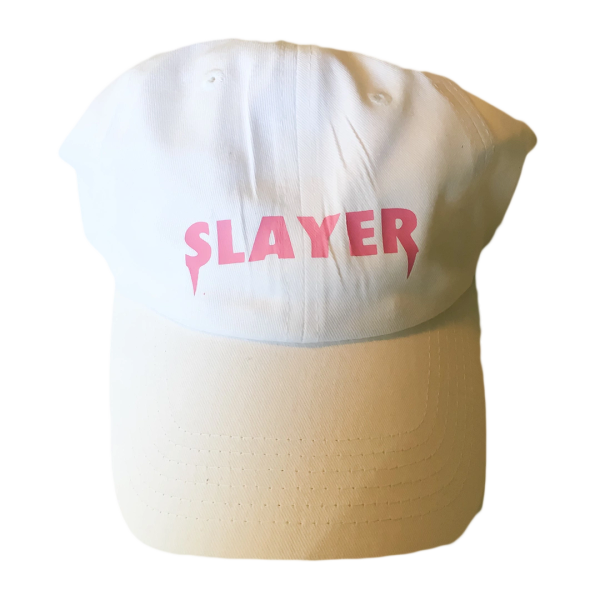 Slayer Dad Hat - White