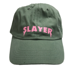 Slayer Dad Hat - Green Pink