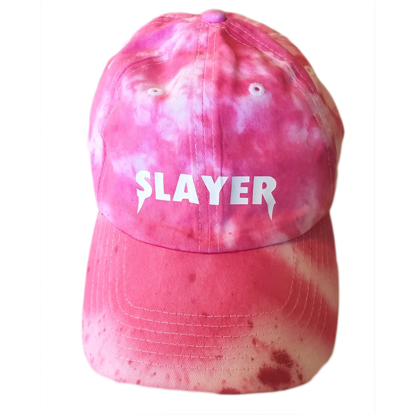 Slayer Dad Hat - Hot Pink