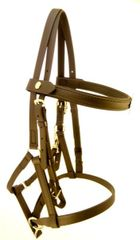 Bridle - Halter Bridle - Deluxe Endurance - New Semi Gloss