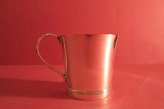 Sterling mug, ca. 1940.