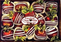 CHOCOLATE DIPPED STRAWBERRIES (12pc.)