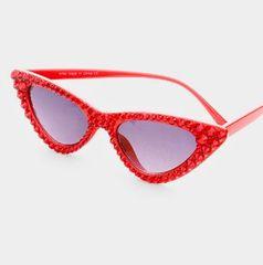 Red Hematite Crystal Sunglasses