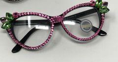 Pink & Green Cat Eyewear