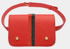 Inspired Quilted Fannie Pack - Red