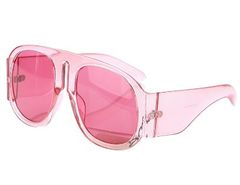 Clear Rim Oversized Shades-PK