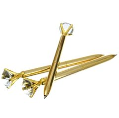 Gold Diamond Pen