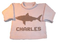 Personalized Shark Vacation Sweater