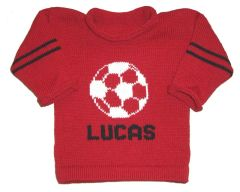 Personalized Soccer Jersey Sweater