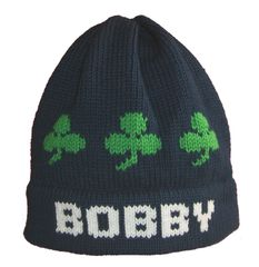 Personalized Shamrock Name Hat